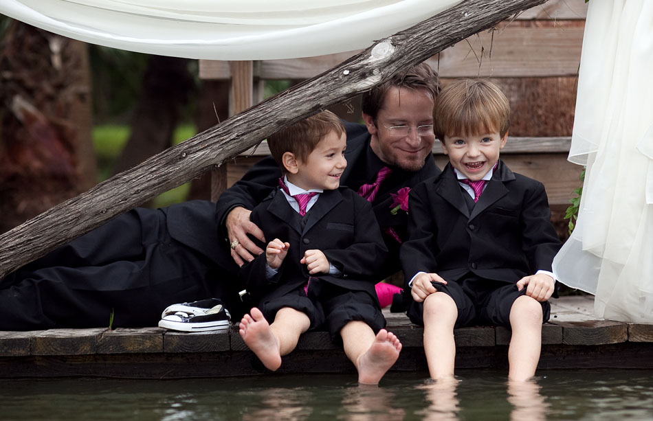 Kids by the Water David Pezzat Wedding Photography