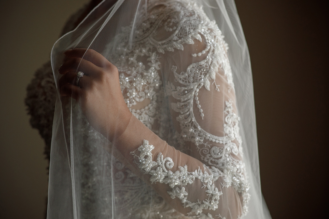 Sposa mia wedding dress detail